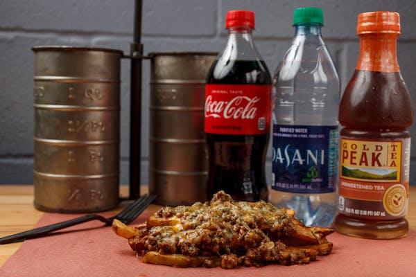 Chili-Cheese Fries Coca-Cola Combo