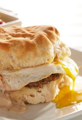 BROKEN EGG® Biscuit Sandwich