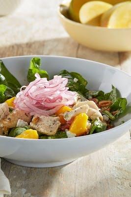 Chicken, Mango and Spinach Salad