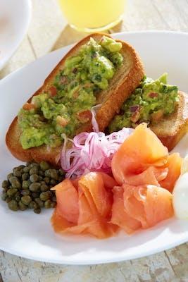 Salmon Avocado Toast - Gluten Friendly