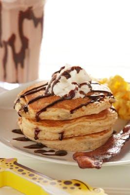 Kids' Chocolate Chip Gluten-Friendly Pancakes