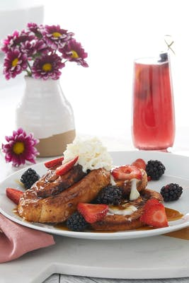 Cinnamon Roll French Toast - Vegetarian Option