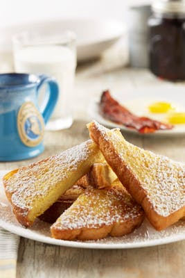 Classic French Toast - Vegetarian Option