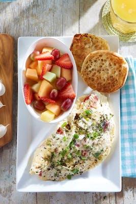 Skinny Omelette - Vegetarian Option