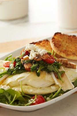 Three-Cheese Veggie Omelette - Gluten Friendly