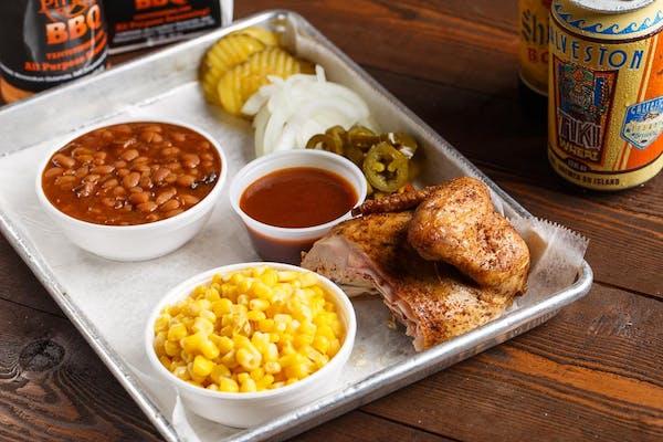 (¼) Chicken Plate
