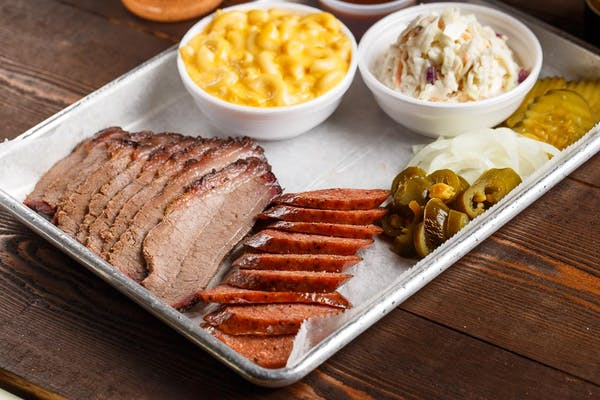 Two-Meat Plate