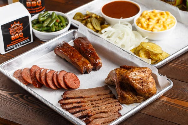 Four-Meat Plate