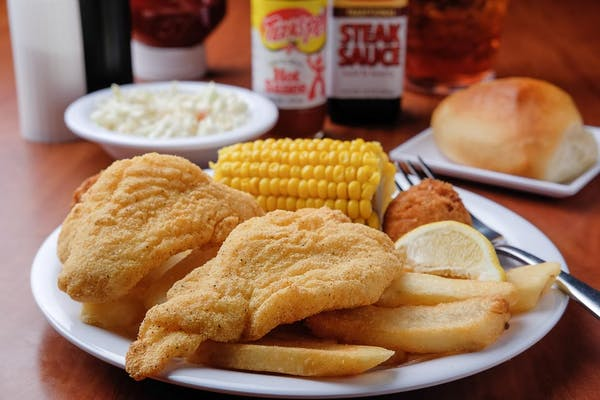 Southern Style Fried Fish Individual Meal