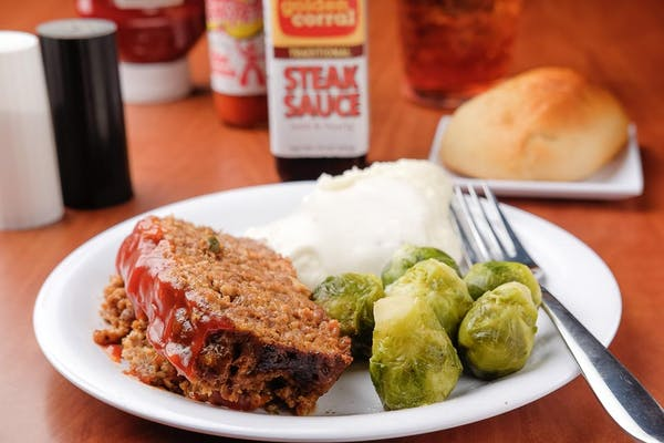 Meatloaf Individual Meal