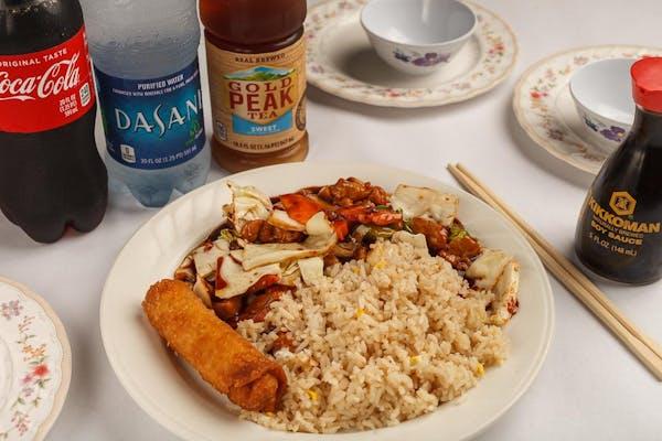 5. Spicy Chicken Plate Coca-Cola Combo