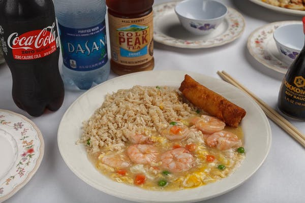 8. Shrimp with Lobster Sauce Coca-Cola Combo
