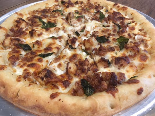 Alfredo Chicken  Pizza