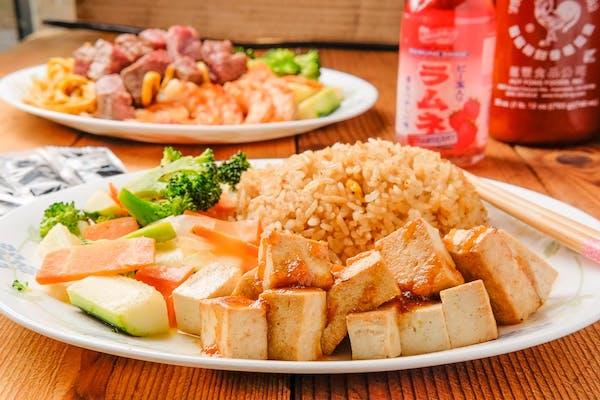 Kyoto Tofu Teriyaki & Veggies Combo