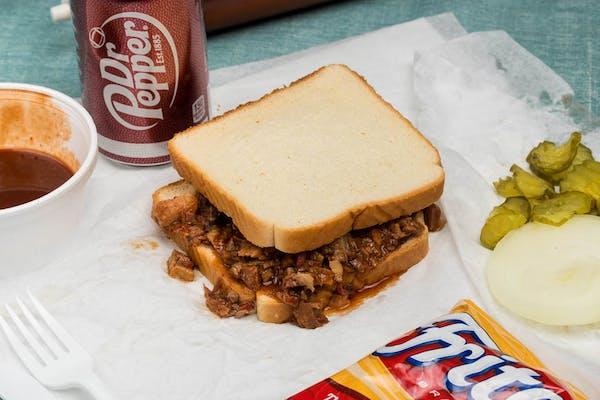 Chopped Beef Sandwich