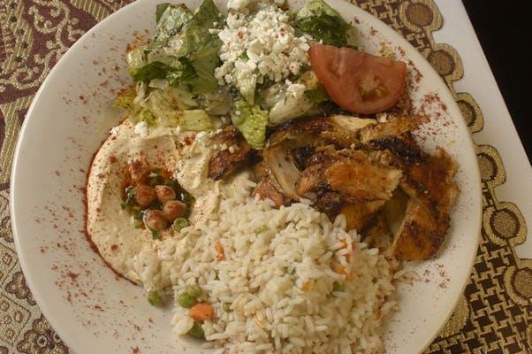 Chicken Shawarma Plate Combo