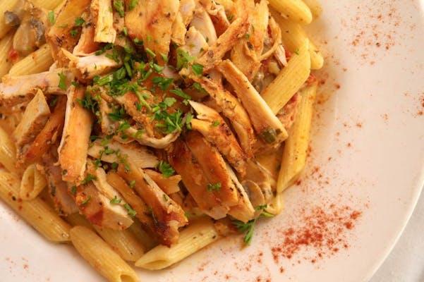 Chicken Shawarma Pasta Plate