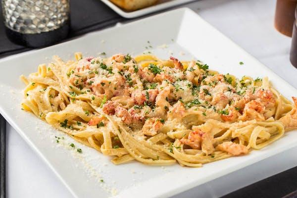 Crawfish Asiago Pasta