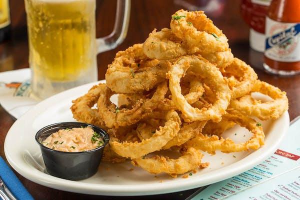 Crispy Fried Onion Rings