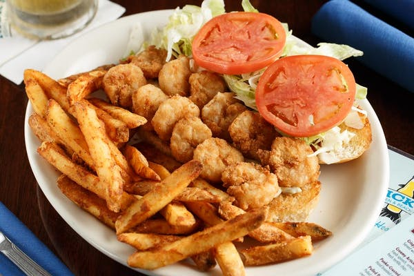 Our Famous Fried Po'boy