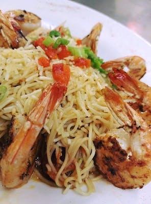 Grilled Shrimp Provencal