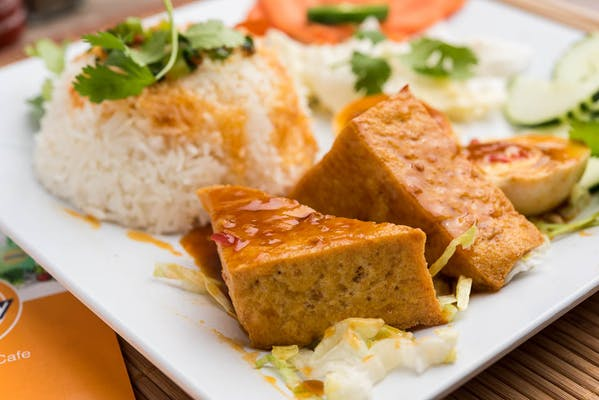 Tofu Rice Plate