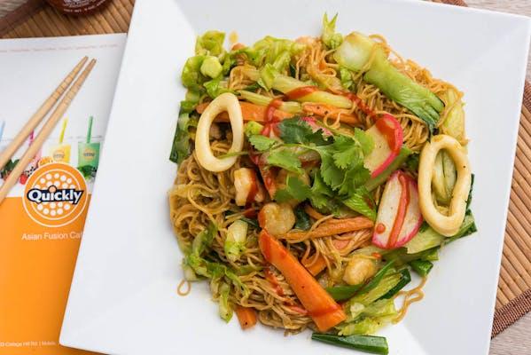 Seafood & Veggie Stir-Fry