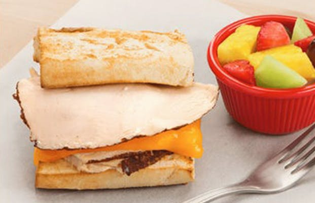 Little Newk's Toasted Turkey & Cheese