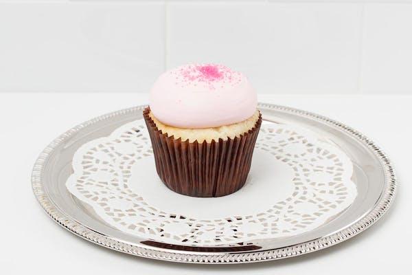 Pink Vanilla Cupcake
