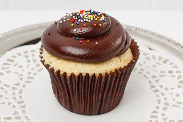 Decadent Vanilla Cupcake