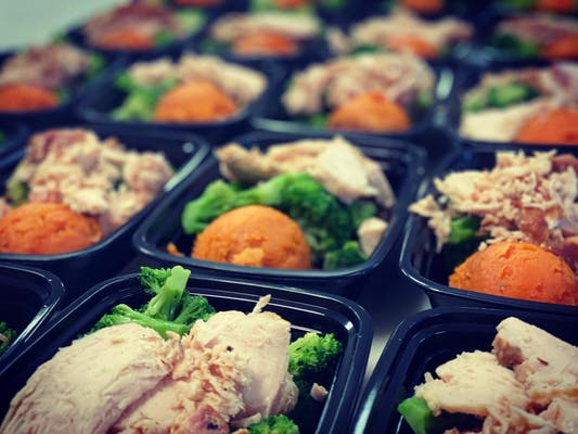 #2 Smoked Chicken Breast, Roasted Broccoli & Sweet Potato