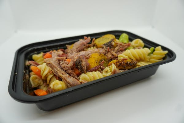 #12 Smoked Beef Brisket, Roasted Veggies, & Pasta