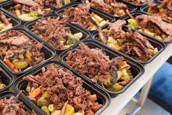#12 Smoked Beef Brisket, Roasted Veggies, & Pasta
