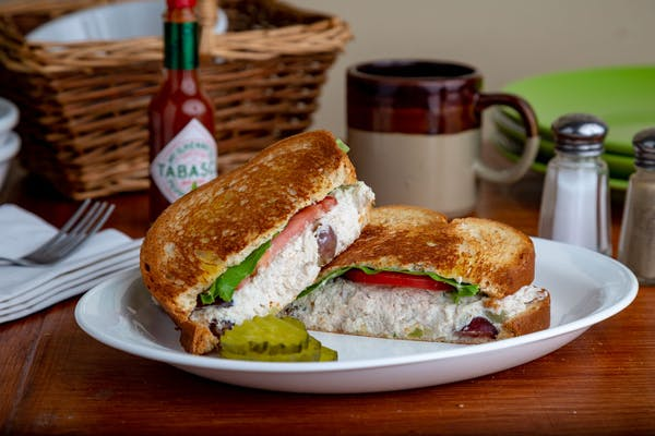 Fruit & Nut Chicken Salad Sandwich