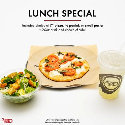 LUNCH SPECIAL PIZZA