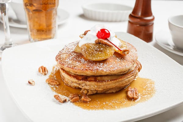 Bananas Foster French Toast or Pancakes