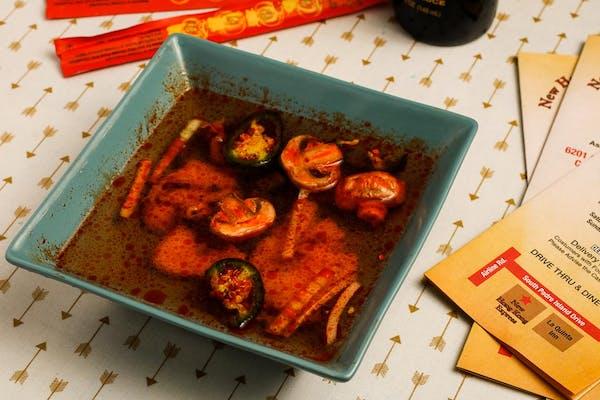 4. Tom Yum Chicken Soup