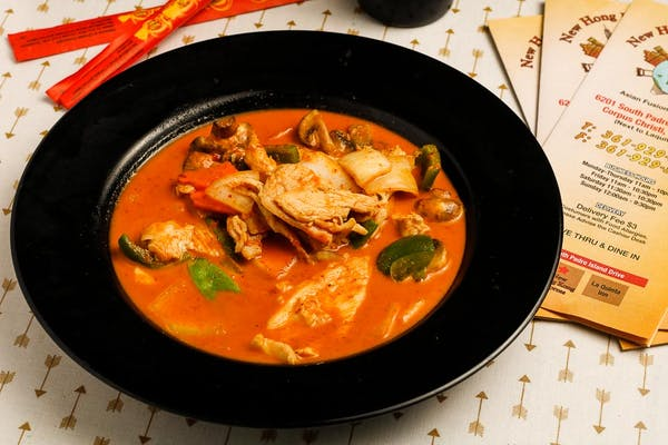 7. Red Curry Chicken