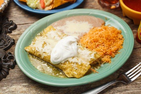 39. Enchiladas Verdes