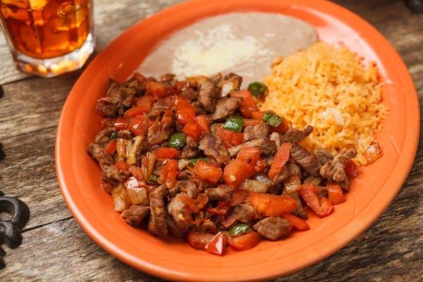 21. Bistec a la Mexicana