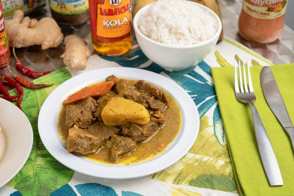 Curry Goat Dinner