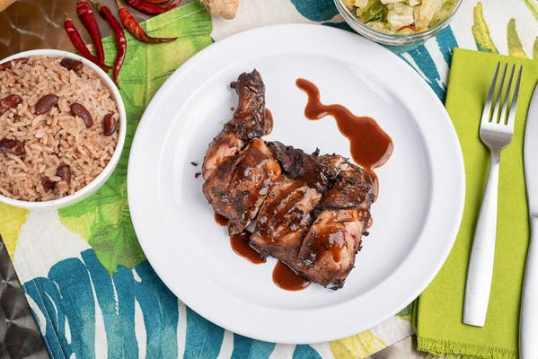 Jerk Chicken Spicy Dinner