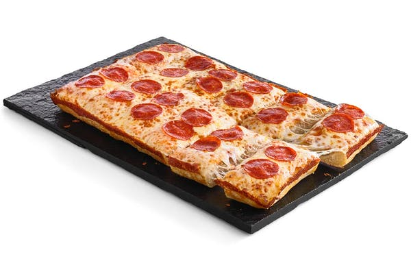 Pepperoni Pan Pizza