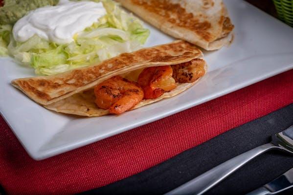 (2) Shrimp Quesadillas