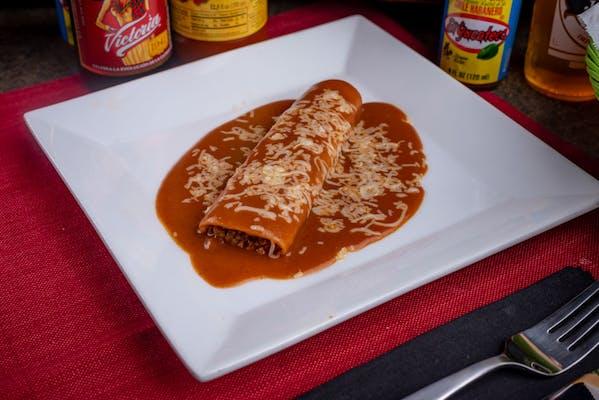 (3) Bean Enchiladas