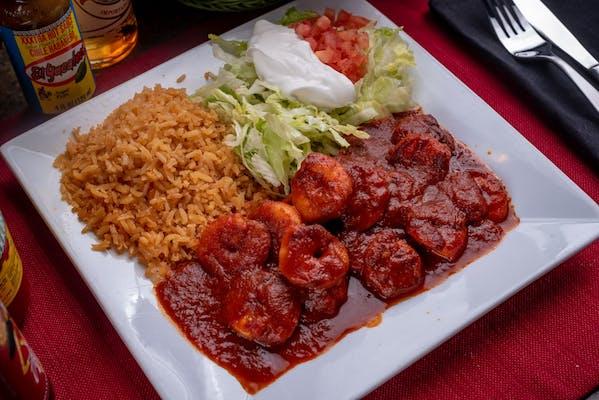 Spicy Camarones a la Diabla