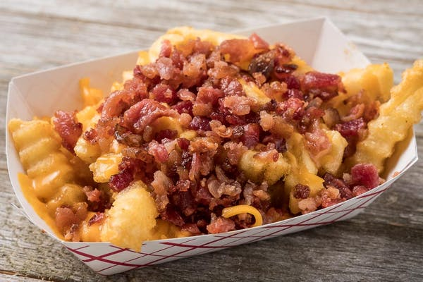 Bacon Cheddar Fries Large