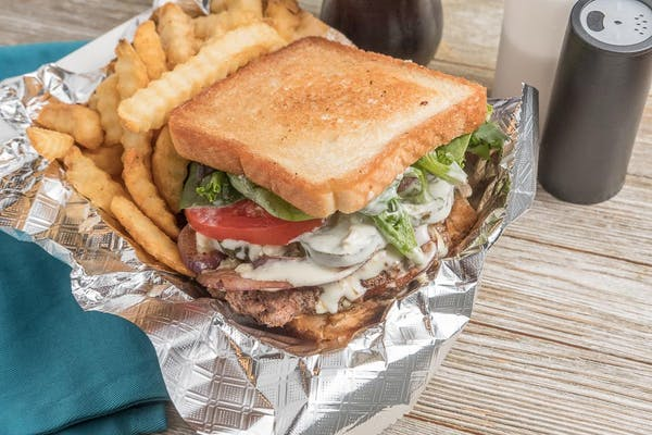 Blue Cheese Crumble Burger