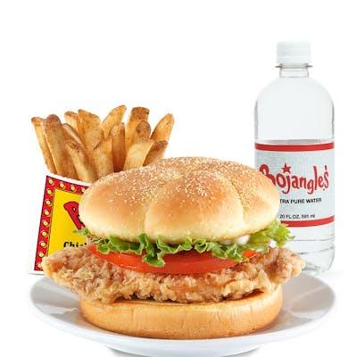 Cajun Fillet Sandwich Combo