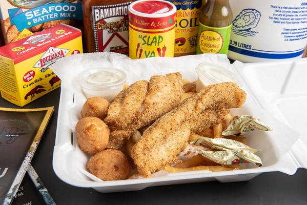 Fried Whitefish